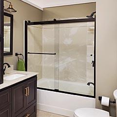 Basco   Custom Shower Enclosure, Sliding Shower Doors, Tub Shower Doors